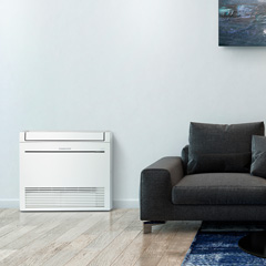 Floor Console Heat Pumps
