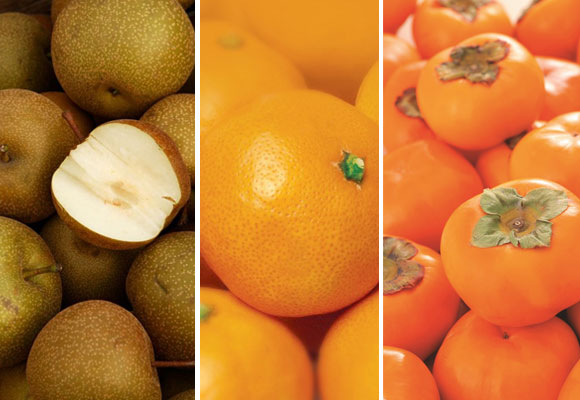 What's In Season - Nashi Pears, Mandarins and Persimmons